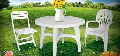 قیمت انواع میز صندلی پلاستیکی