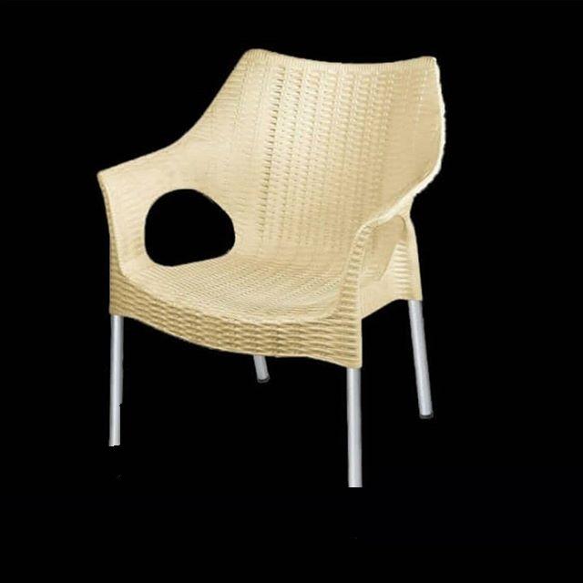 عمده فروشی صندلی پلاستیکی پایه فلزی
