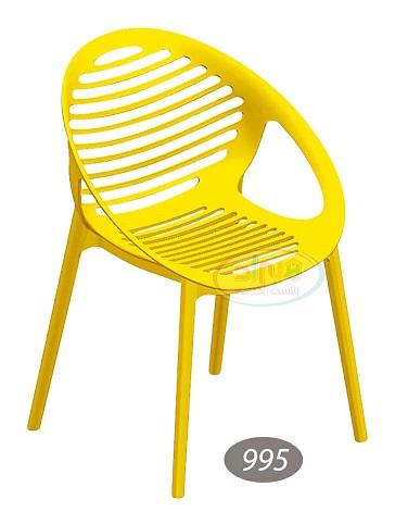 صندلی پلاستیکی گرد