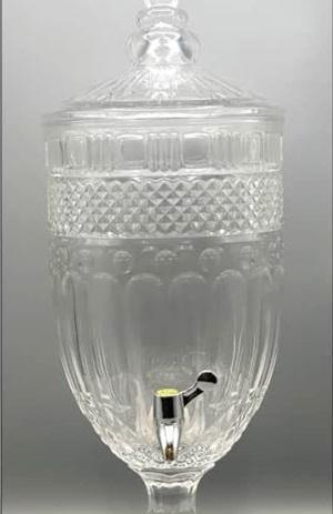 کلمن پلاستیکی شفاف