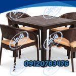 میز صندلی پلاستیکی اصفهان