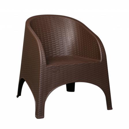 میز و صندلی پلاستیکی طرح چوب