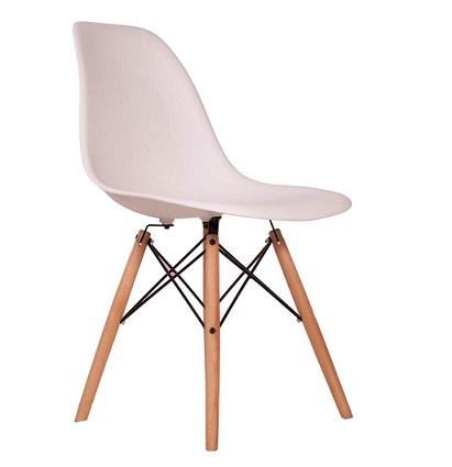 میز و صندلی پلاستیکی پایه چوبی