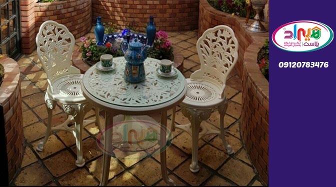 صندلی پلاستیکی طاووسی